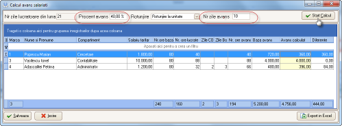 start_calcul
